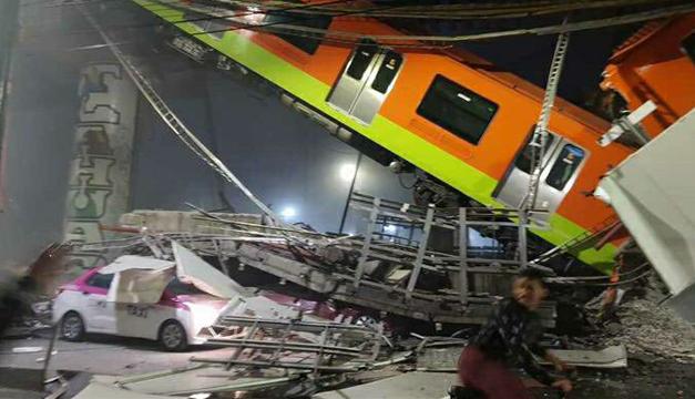 """Accidente en metro de Ciudad de México deja 15 muertos y """"cerca de 70 heridos"""""""