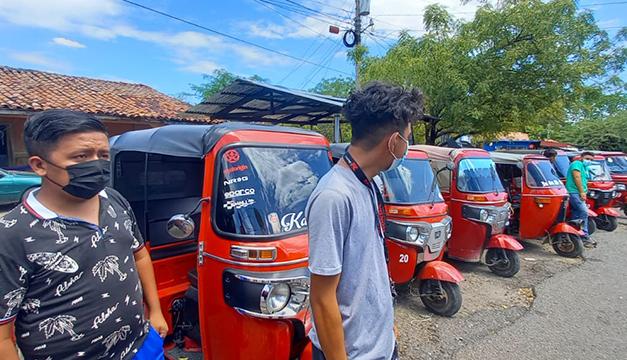Militares decomisaron más de 20 mototaxis en Pasaquina, La Unión