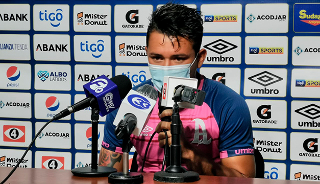 """Narciso Orellana: """"Ya estamos acostumbrados a jugar sin nuestro público"""""""