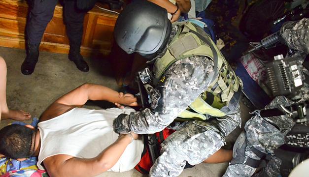 PNC y Fiscalía buscaban esta madrugada a 40 cabecillas de la MS en Ilopango, San Salvador y Soyapango