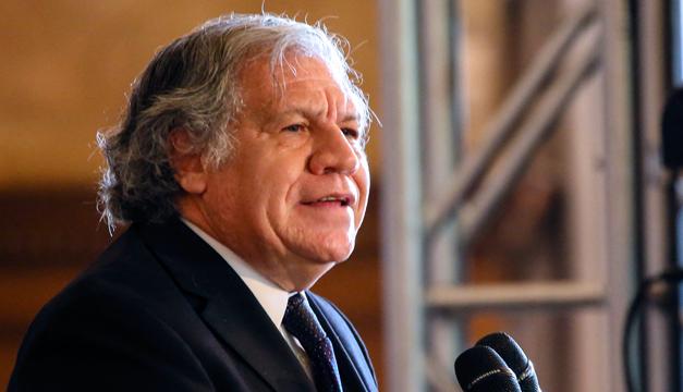 Almagro alerta que El Salvador va por el camino de Venezuela y Cuba