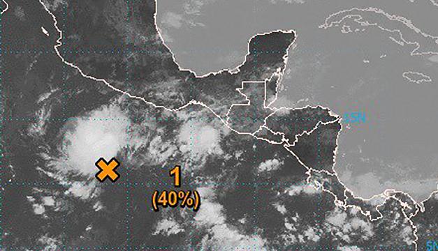 Depresión tropical en formación no afectará a El Salvador dice Centro Nacional de Huracanes