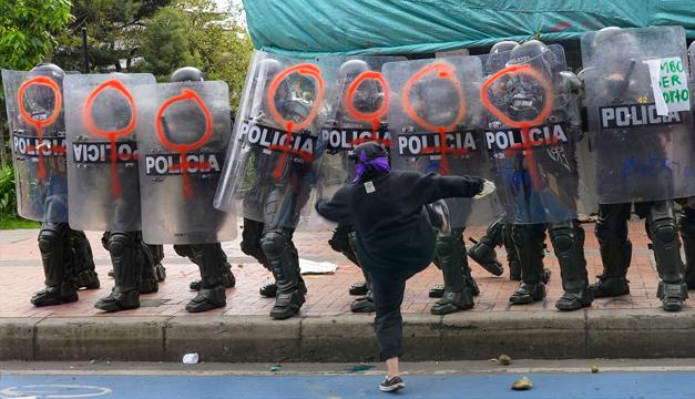 Congresistas de EEUU piden al Gobierno no vender armas a la policía colombiana