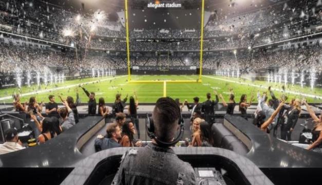 Equipo de NFL tendrán una discoteca a pie de campo en sus partidos como locales