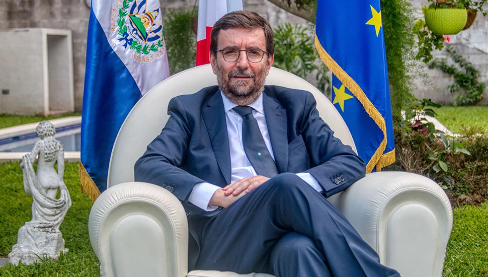 EDOARDO PUCCI EMBAJADOR DE ITALIA EN EL SALVADOR