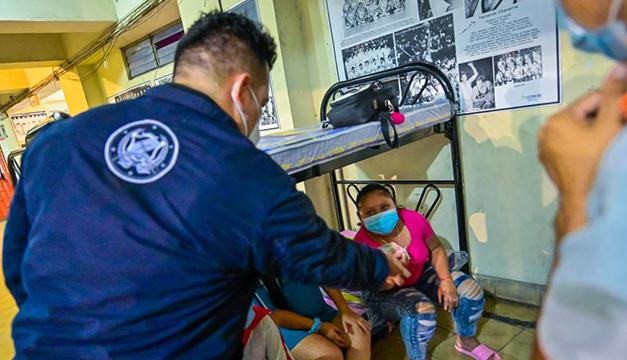 Cerca de 80 evacuados en tres albergues habilitados en San Salvador y uno en Santa Tecla