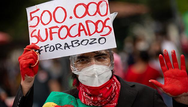 Más de 500.000 muertos por covid en Brasil, amenazado por una tercera ola