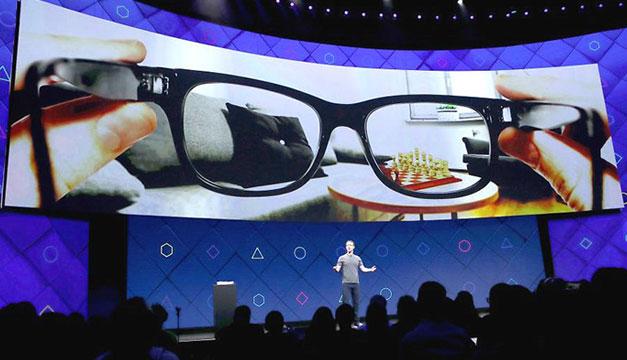 Facebook prepara un sistema operativo para gafas de realidad aumentada