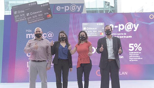 Banco CUSCATLAN lanza la nueva tarjeta e-pay Platinum