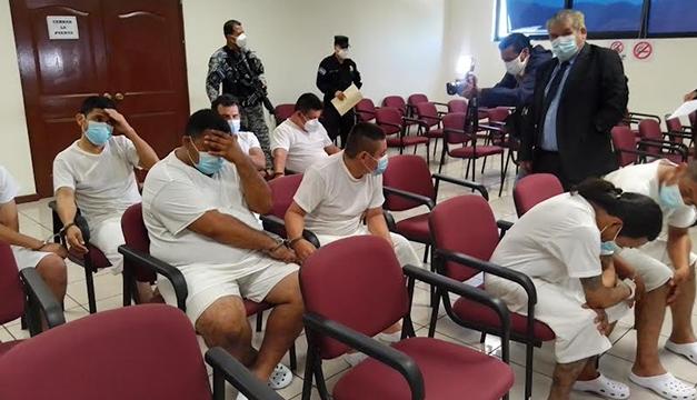 Cuatro pandilleros MS son procesados por feminicidio de Violeta e intento de asesinato de una bebé