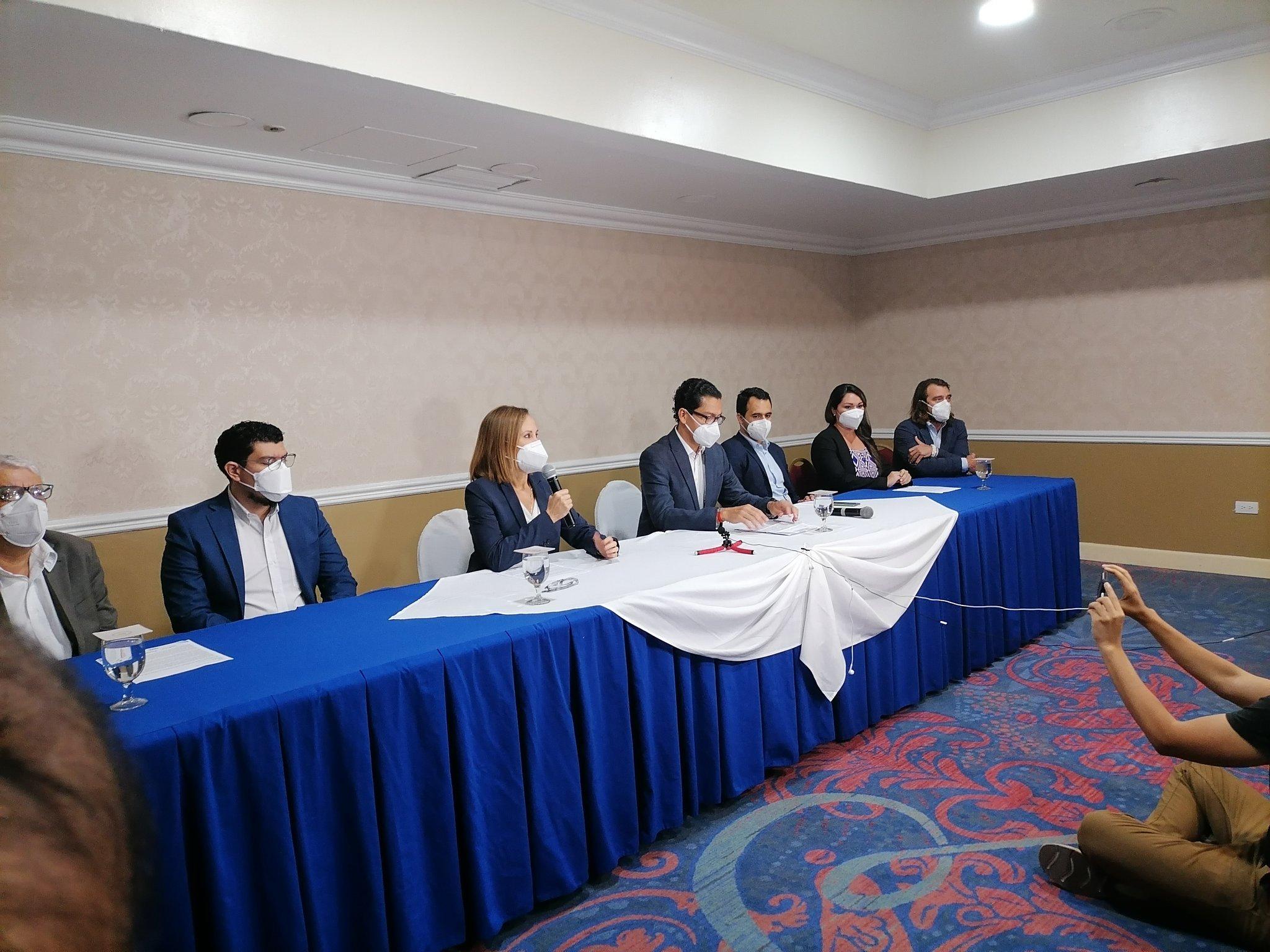 EN VIVO: Conferencia de prensa sobre reunión de organizaciones civiles con Bukele