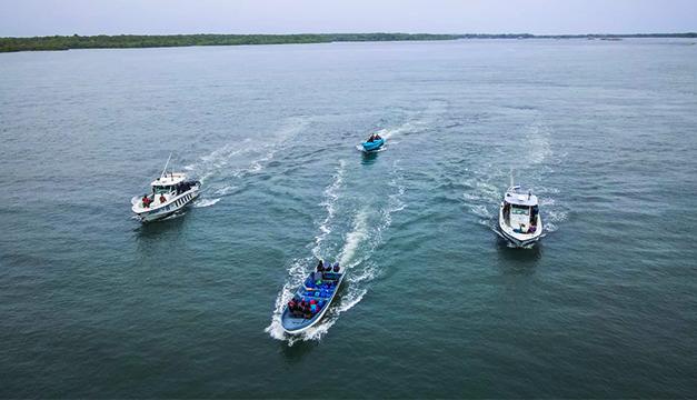 El Salvador intercepta embarcación con $35 millones en drogas frente a su costa