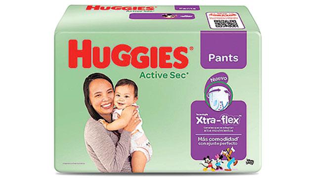 Huggies, la marca de cuidado del bebé de Kimberly-Clark, presenta Xtra-Flex