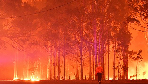 Los incendios de Australia impactaron más al clima en 2020 que el covid-19, según estudio