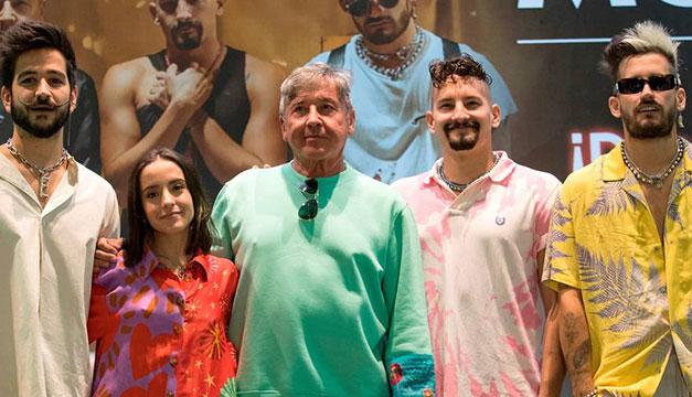 Los Montaner se defienden ante críticas por concierto familiar