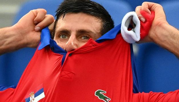 Tras su derrota en individuales, Djokovic se queda también sin oro en dobles mixtos