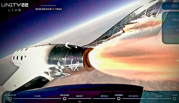 Así fue el extraordinario viaje del millonario Richard Branson hacia el espacio en su propia nave