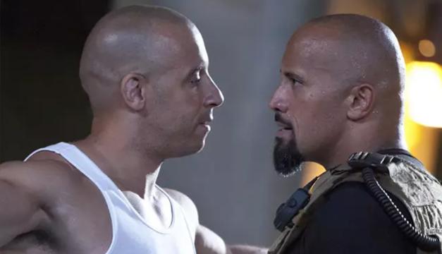 """Dwayne Johnson se ríe de Vin Diesel y confirma que no estará en """"Fast and Furious"""" 10 y 11"""