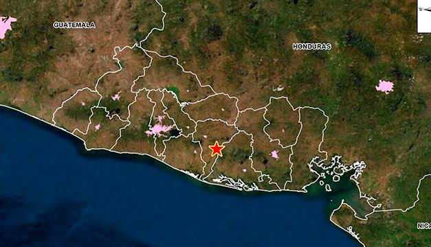 Finaliza enjambre sísmico en Tecoluca, San Vicente