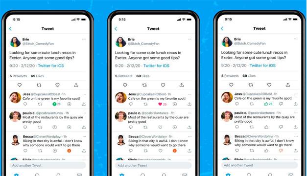 Twitter prueba las reacciones para desaprobar los tuits