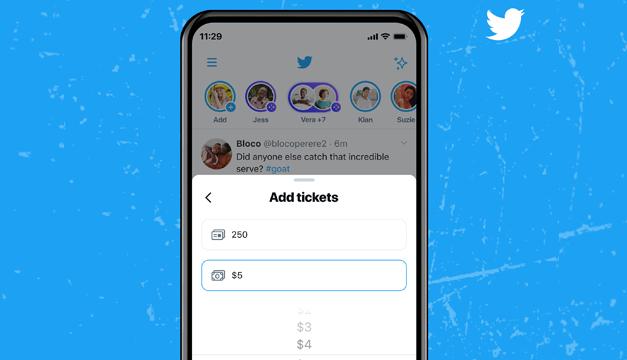 Twitter ya permite crear los primeros Spaces de pago
