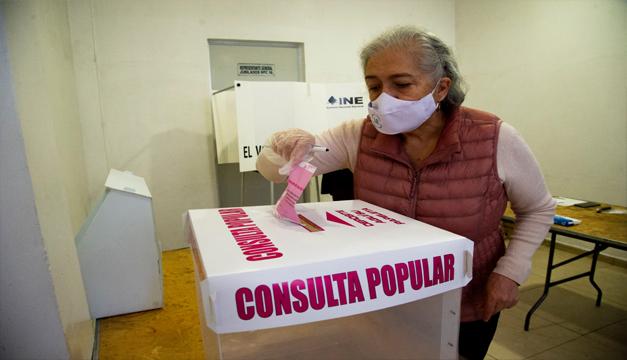 México celebra referendo sobre juicio por corrupción a expresidentes