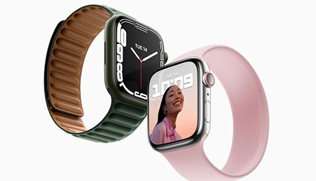 Apple Watch Series 7 aumenta el tamaño de la pantalla e incorpora funciones para los ciclistas