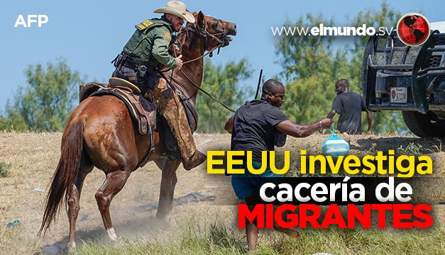 """""""Es horrible"""" dice la Casa Blanca sobre imágenes de agentes a caballo contra inmigrantes haitianos"""