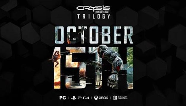 La remasterización de la trilogía de Crysis se lanzará el 15 de octubre