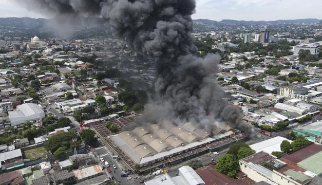 San Miguelito es el sexto mercado consumido por un incendio en menos de un año