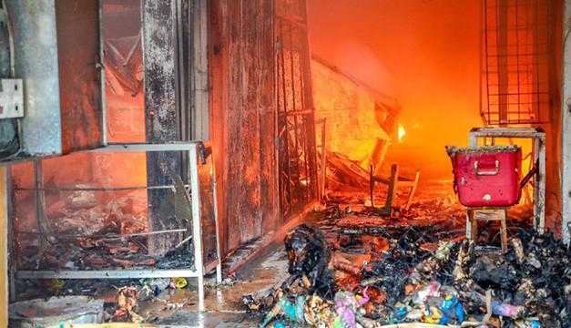 Vendedores lamentan respuesta tardía de autoridades y mal estado de mercado San Miguelito