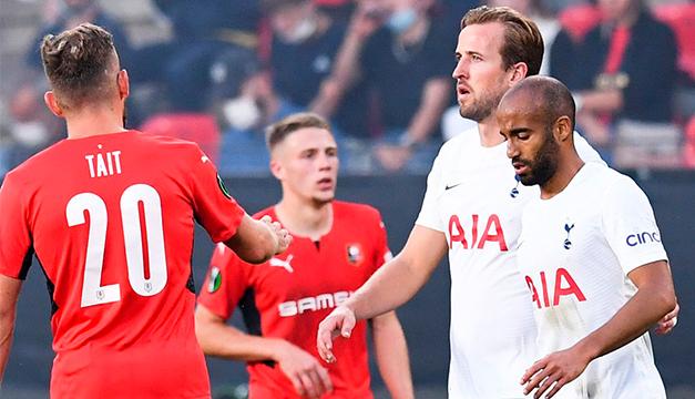 Tottenham empata 2-2 en Rennes en su grupo de Conference League