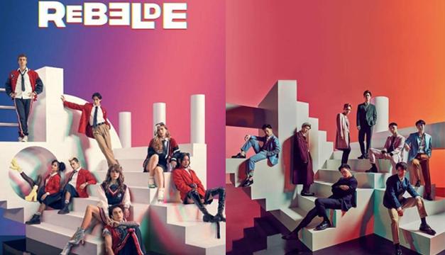 """¿Plagió Netflix las ideas creativas de EXO para la nueva serie de """"Rebelde""""?"""